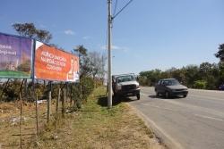 Outdoor, Mídia Exterior: MG 432, entrada Tupã, sentido Nova Contagem/Icaivera/Esmeraldas