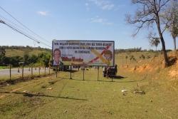 Outdoor, Mídia Exterior: LMG 808, entrada Icaivera/Retiro, sentido Nova Contagem/Esmeraldas