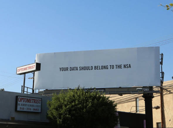 Contagem outdoor bittorrent acao de marketing outdoor BitTorrent provoca NSA em outdoors   Outdoor em BH, Contagem, Betim   Contagem Outdoor
