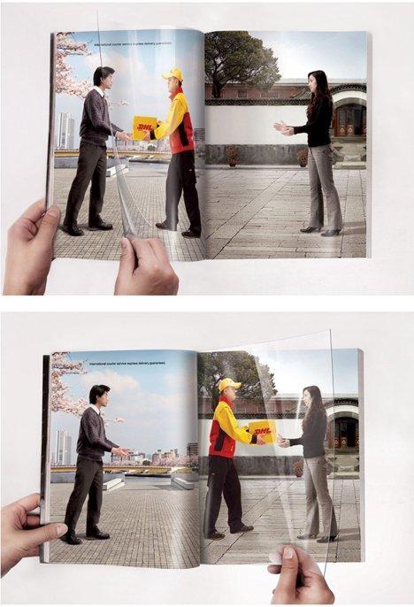 dhl Os 10 anúncios impressos mais inteligentes   Outdoor em BH, Contagem, Betim   Contagem Outdoor