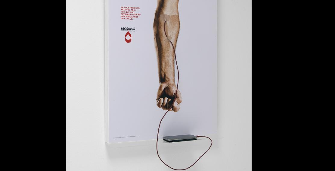 Fundação espalha Carregadores de Sangue por São Paulo   Outdoor em BH, Contagem, Betim   Contagem Outdoor