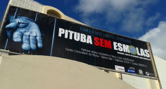 """RTEmagicC 477127cfb2.jpg Outdoor da campanha """"Pituba sem Esmolas"""" gera reações no Facebook   Outdoor em BH, Contagem, Betim   Contagem Outdoor"""